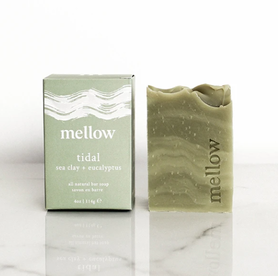 Sea Clay + Eucalyptus Bar Soap | Tidal