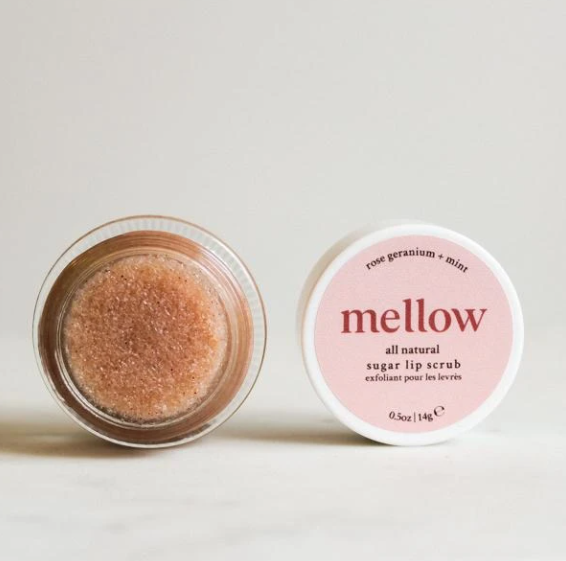 Lip Scrub | Rose + Mint