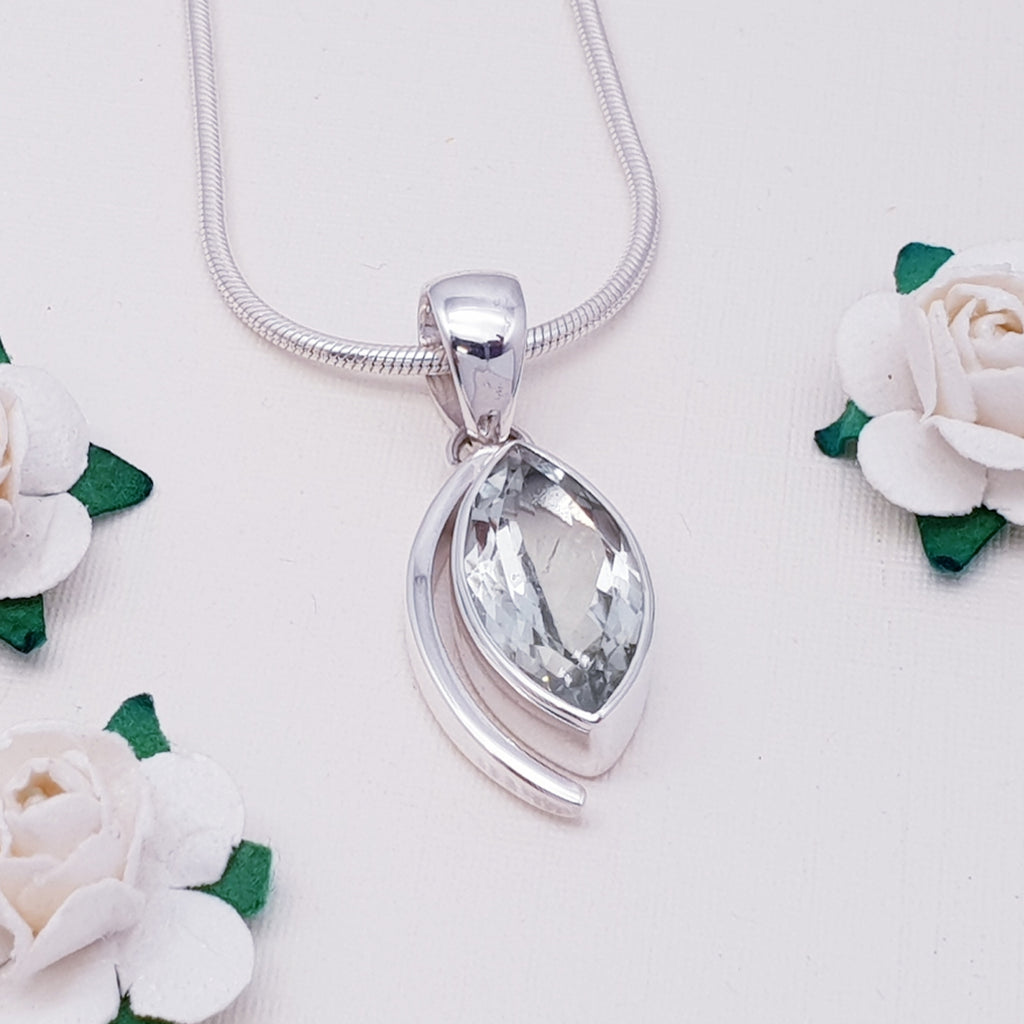 Green Amethyst Antheia Pendant