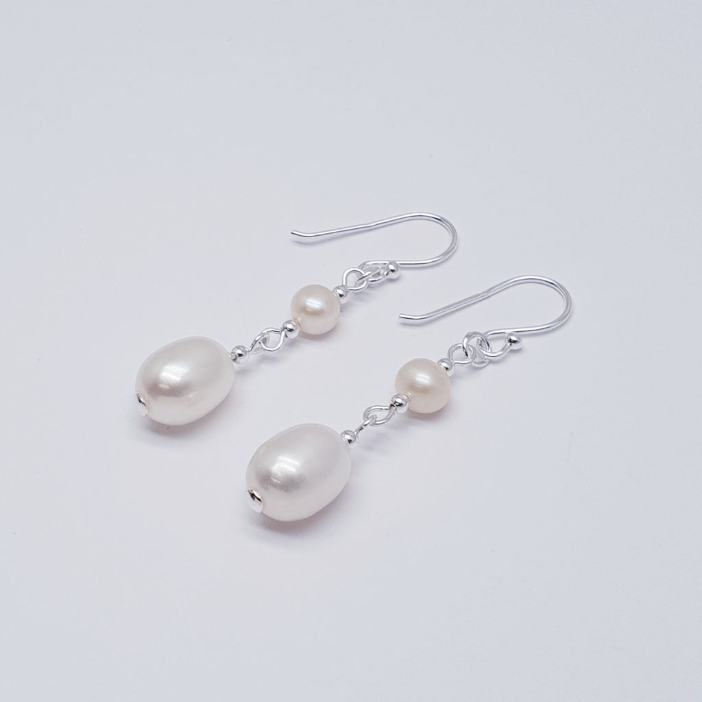 Pearl Duo Earrings