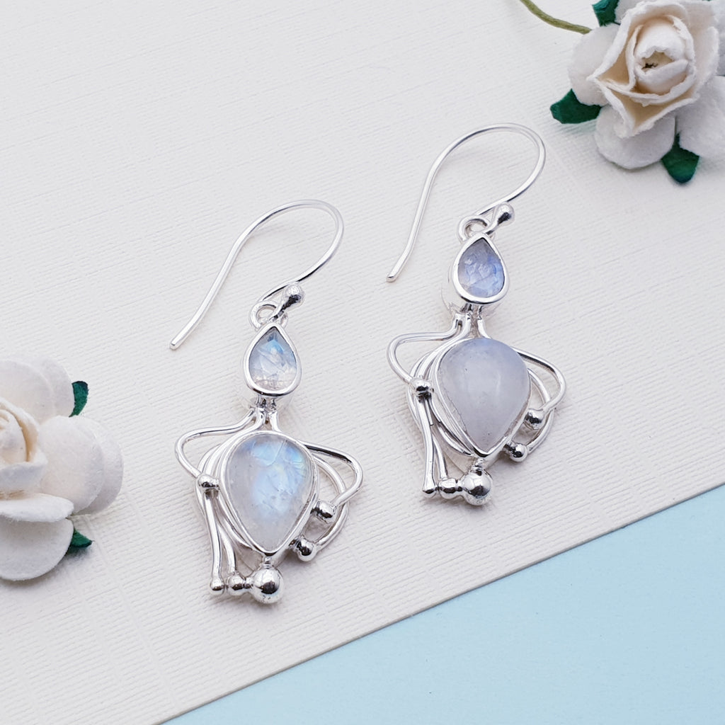 Moonstone Achelois Earrings