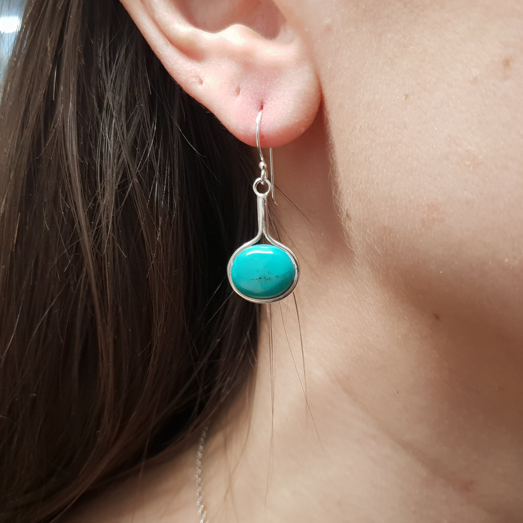 Turquoise Venus Earrings