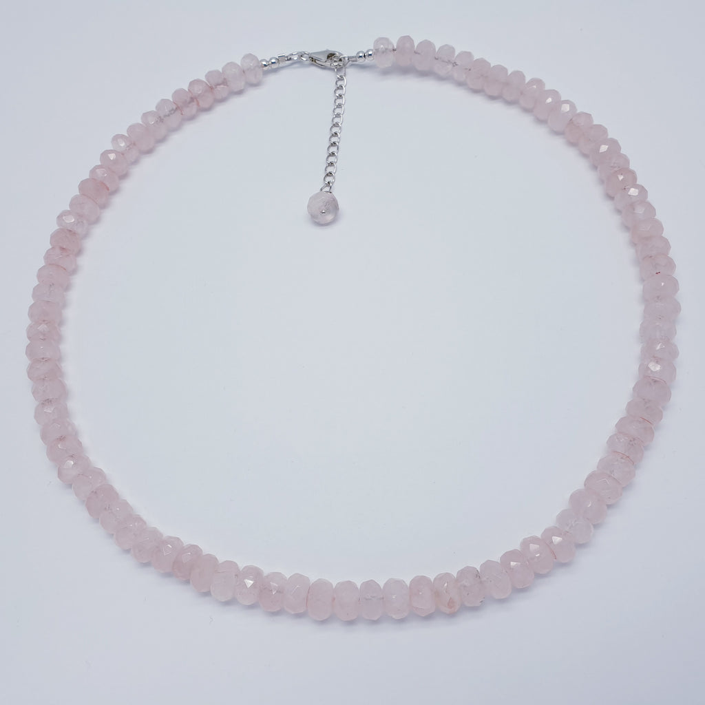 Rose Quartz Multi Bead Necklace