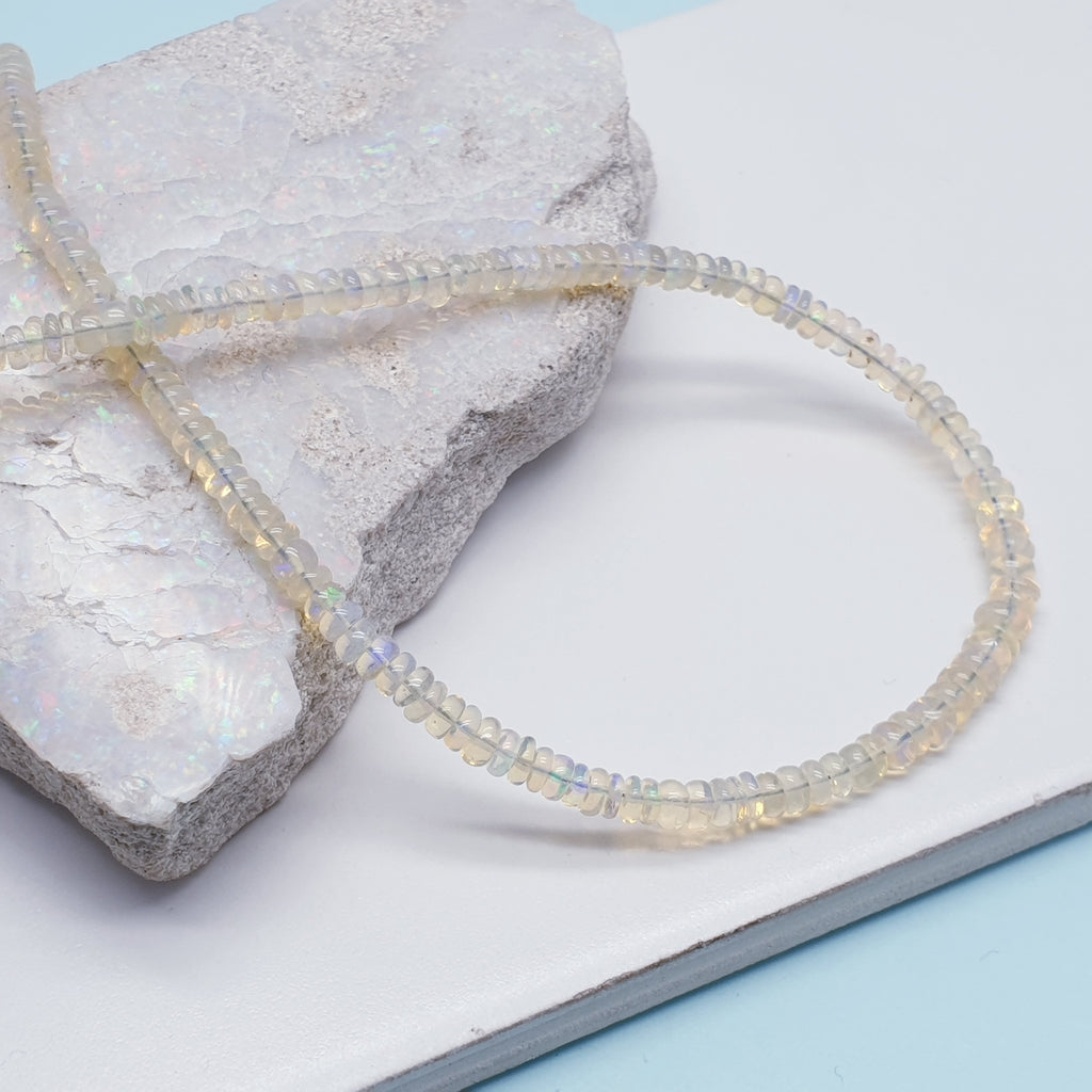 Opal Multi Bead Necklace