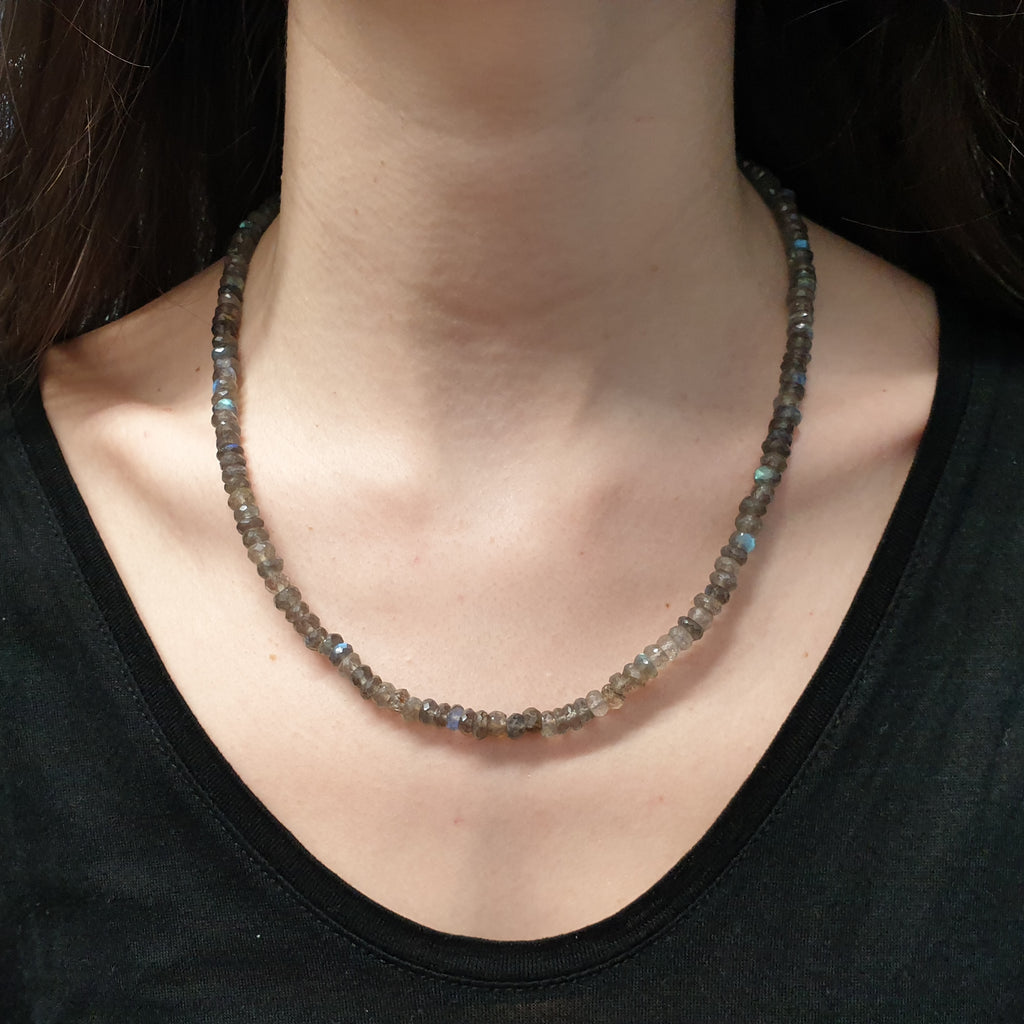 Labradorite Multi Bead Necklace