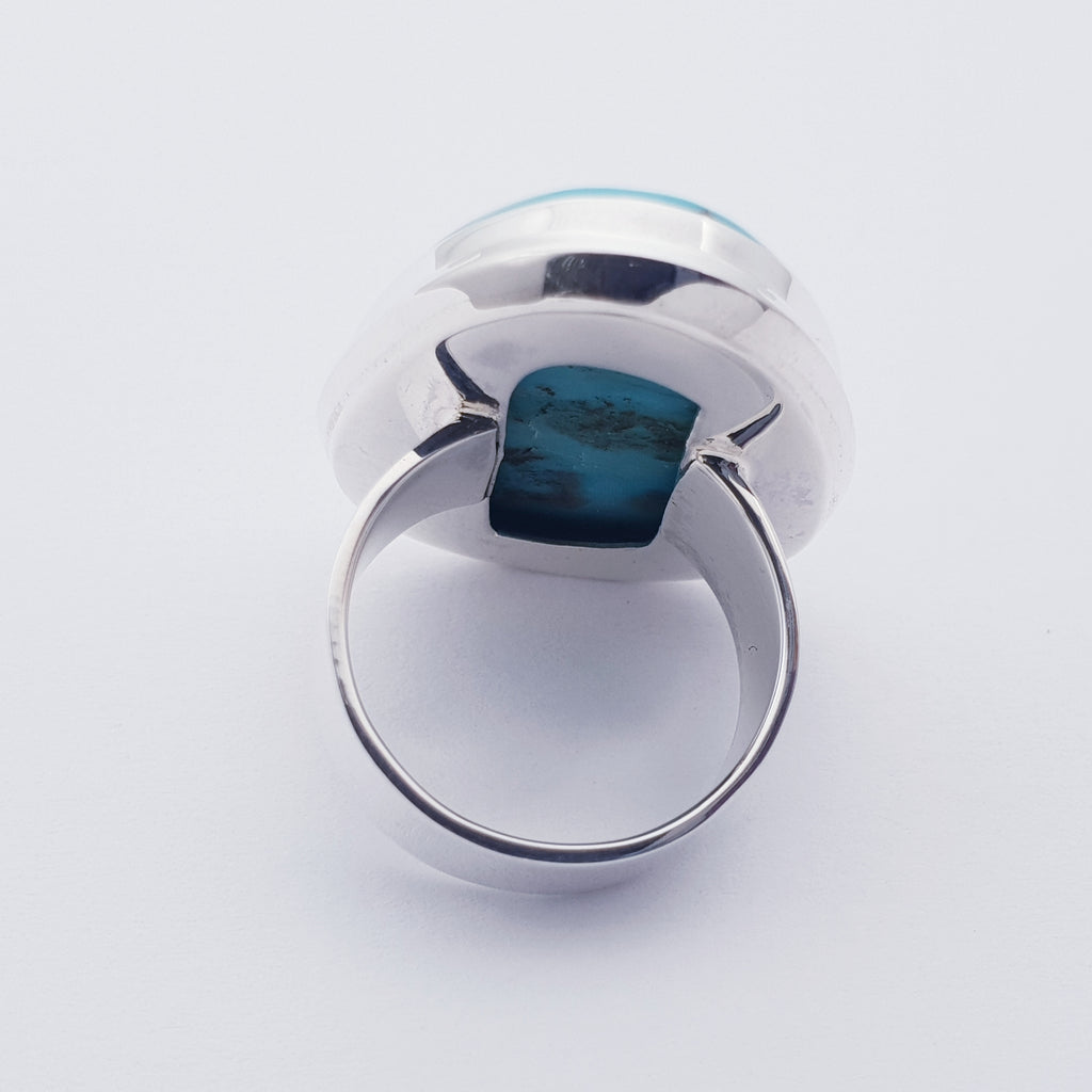 One-off Turquoise Free Form Ring