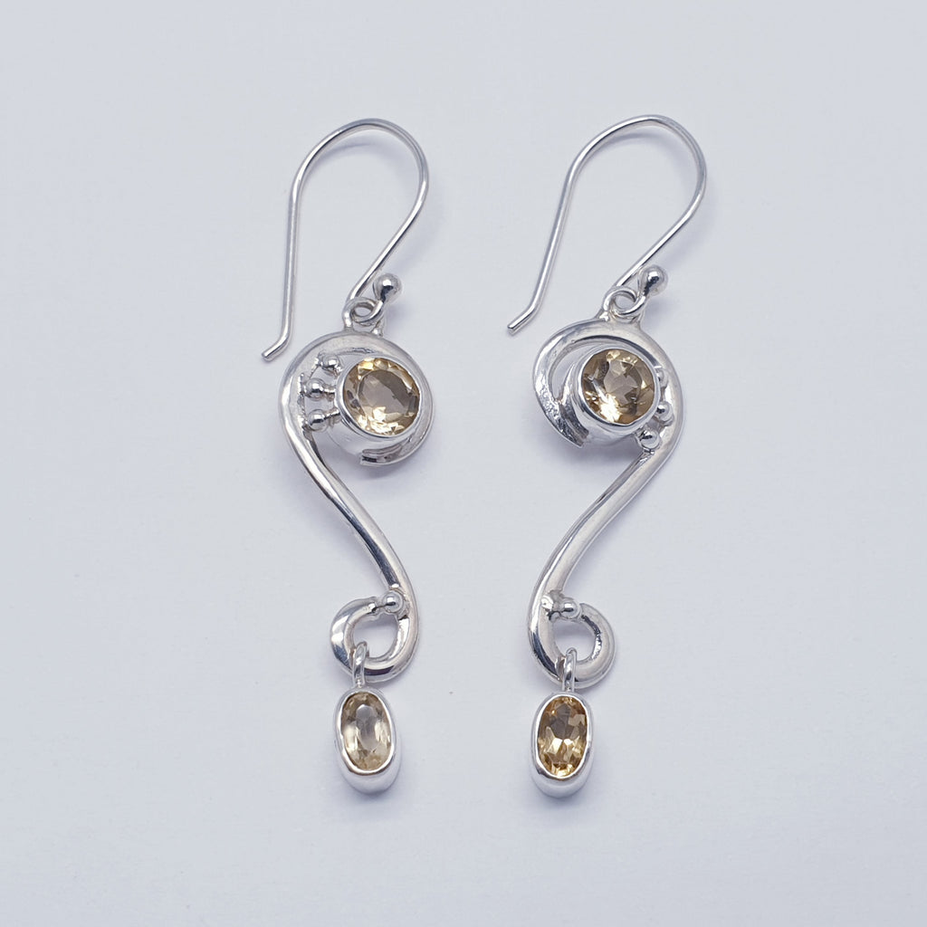 Citrine Astraea Earrings