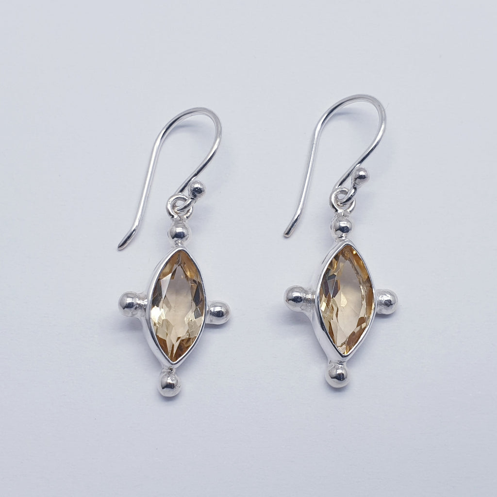Citrine Asia Earrings