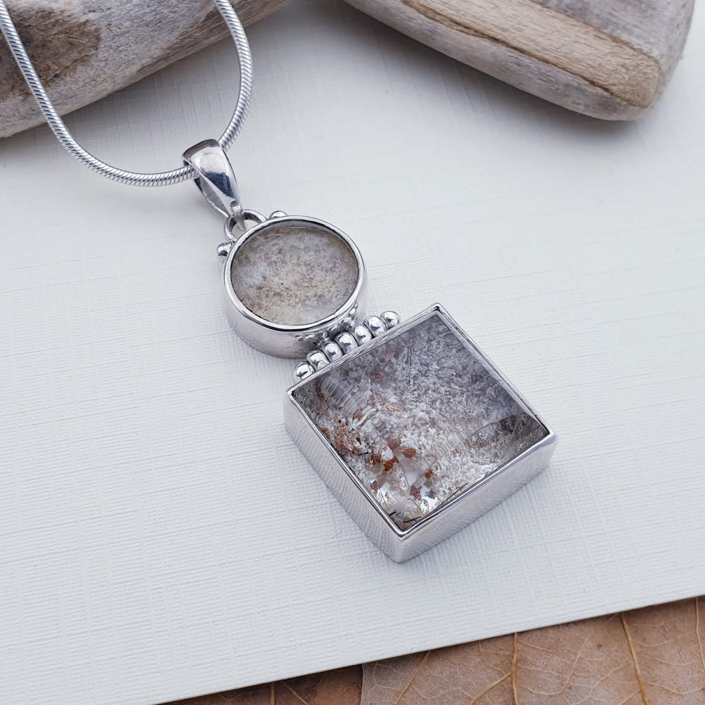 One-off Lodolite Hinged Pendant