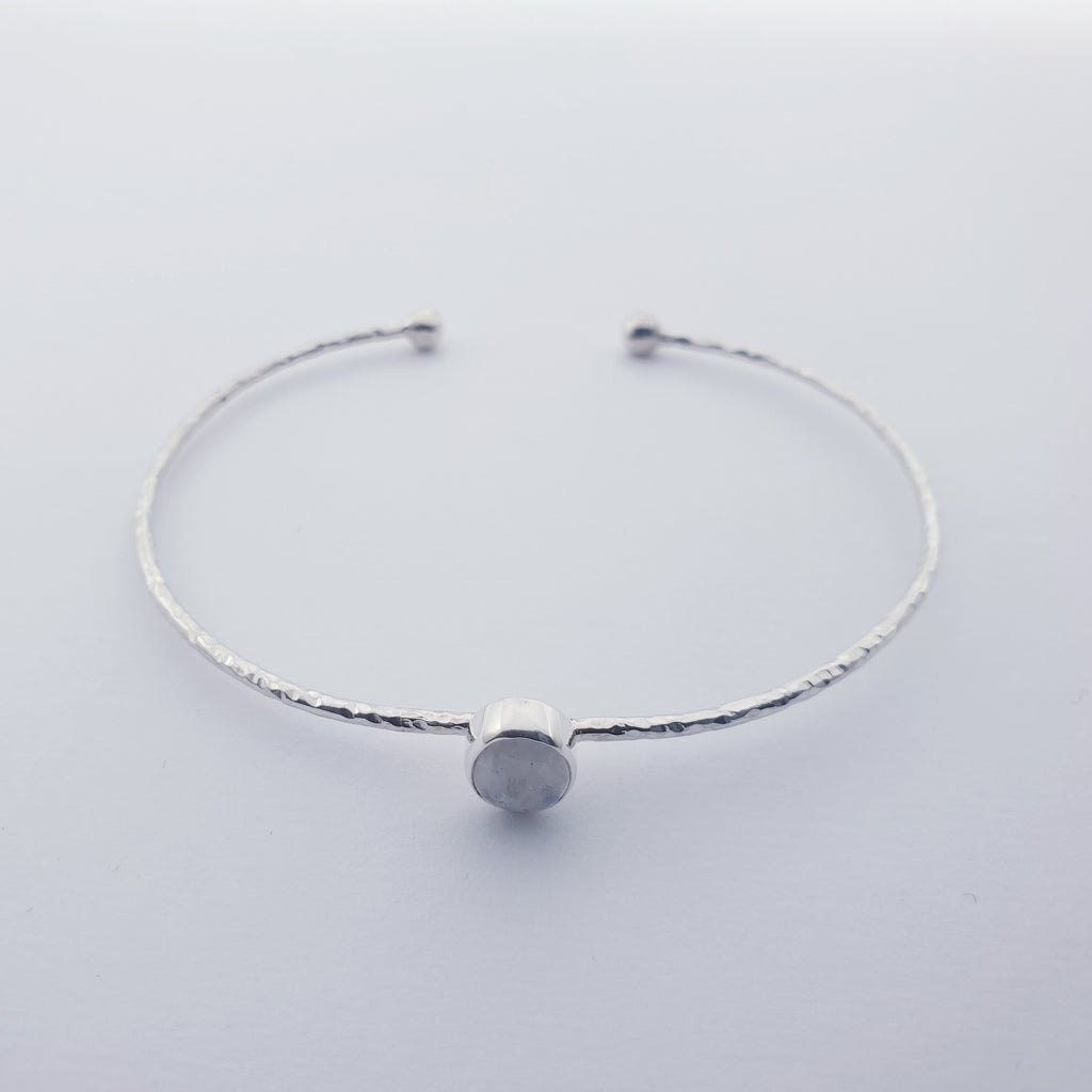 Moonstone Little Stone Cuff
