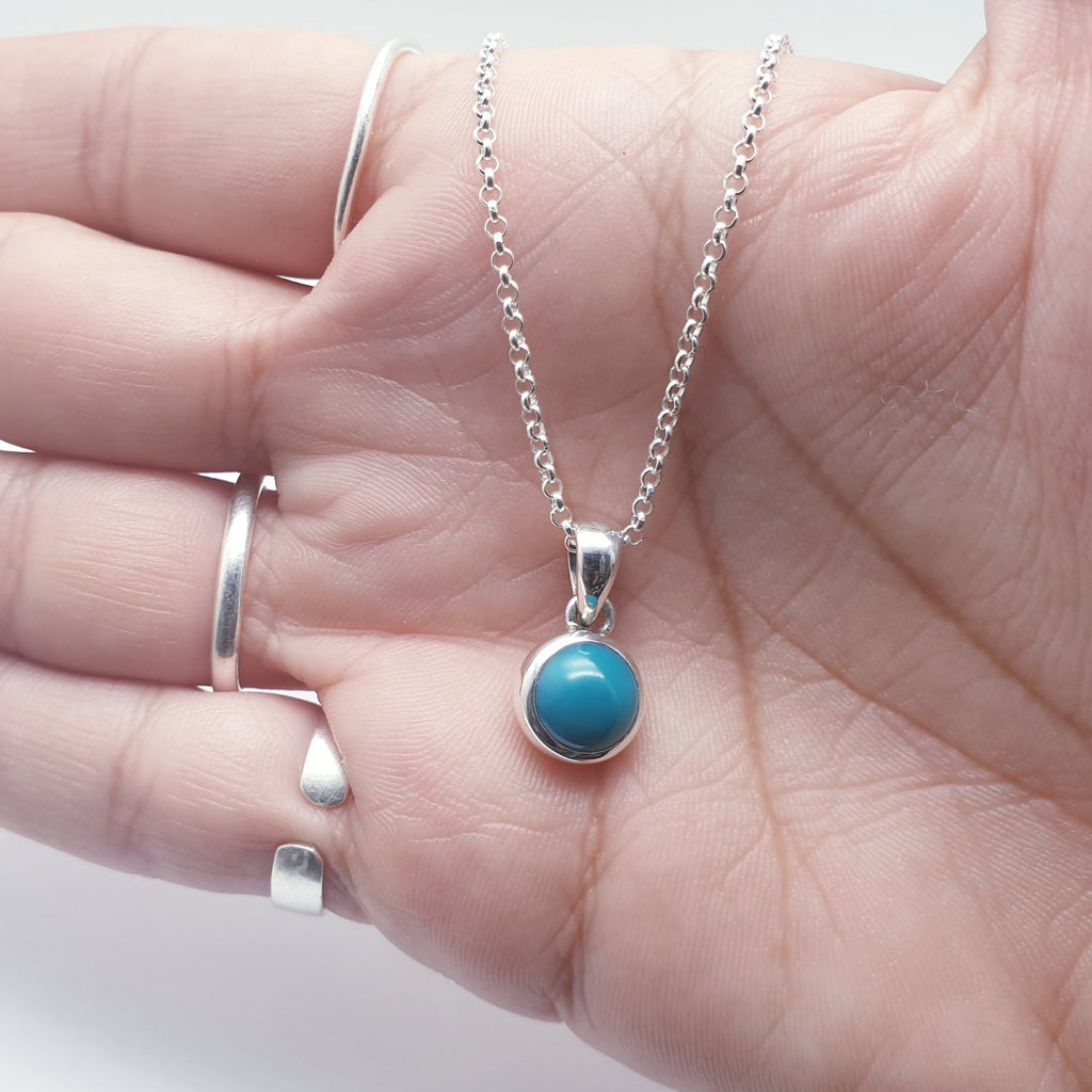 Turquoise Small Simple Pendant