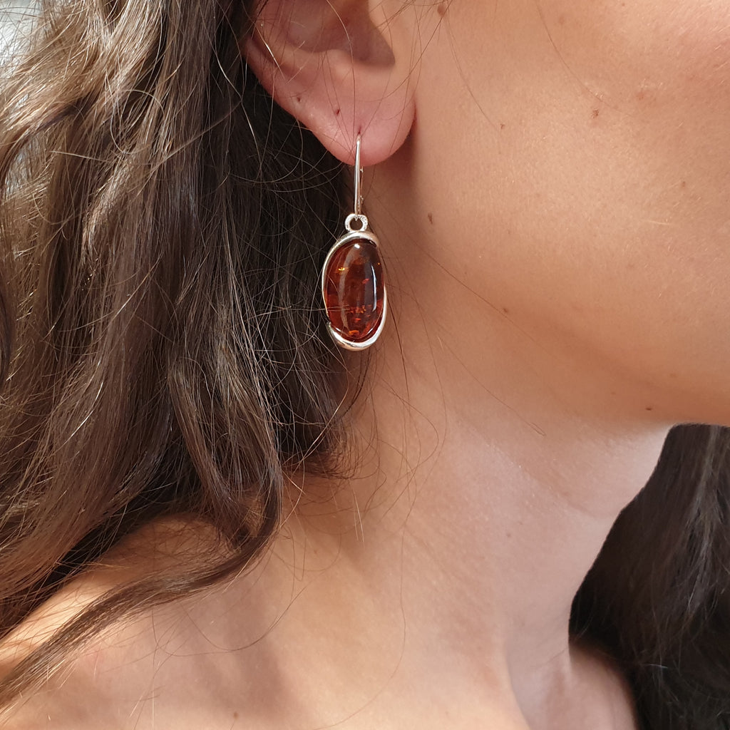 Amber Zofia Earrings