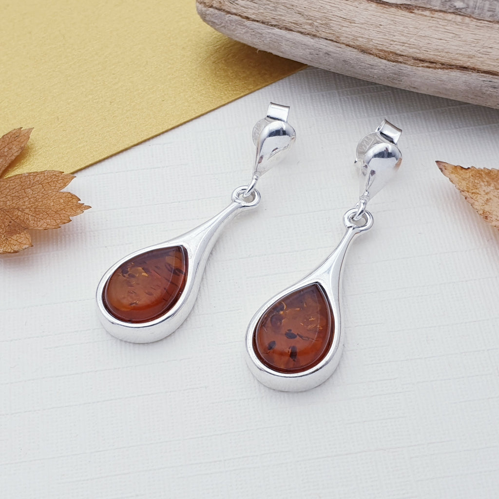 Amber Ozella Earrings