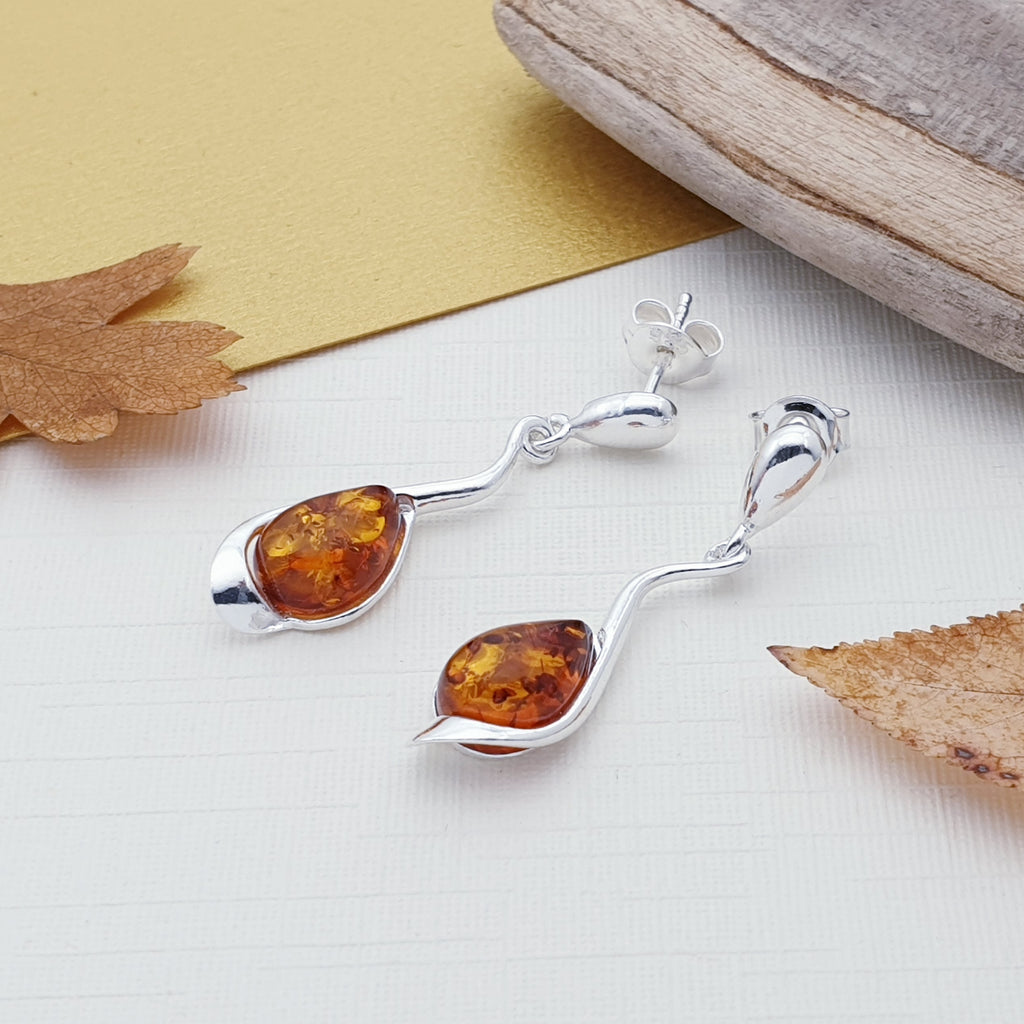 Amber Apolonia Earrings