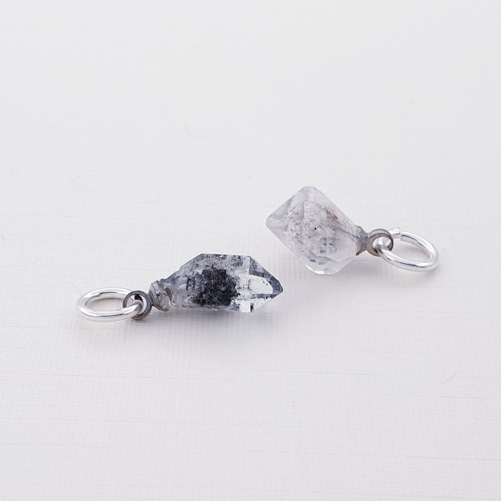 Herkimer Diamond Charm