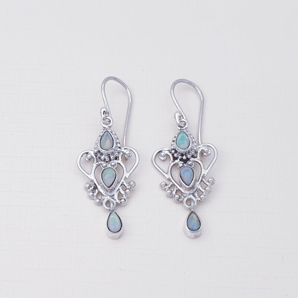 Opal Alectrona Earrings