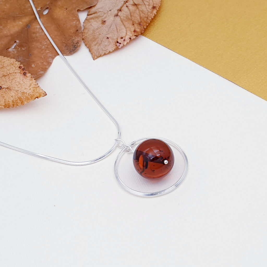 Amber Phoebe Necklace