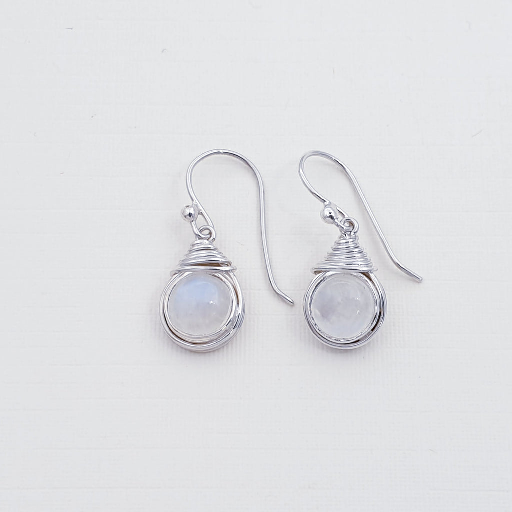 Moonstone Freya Earrings
