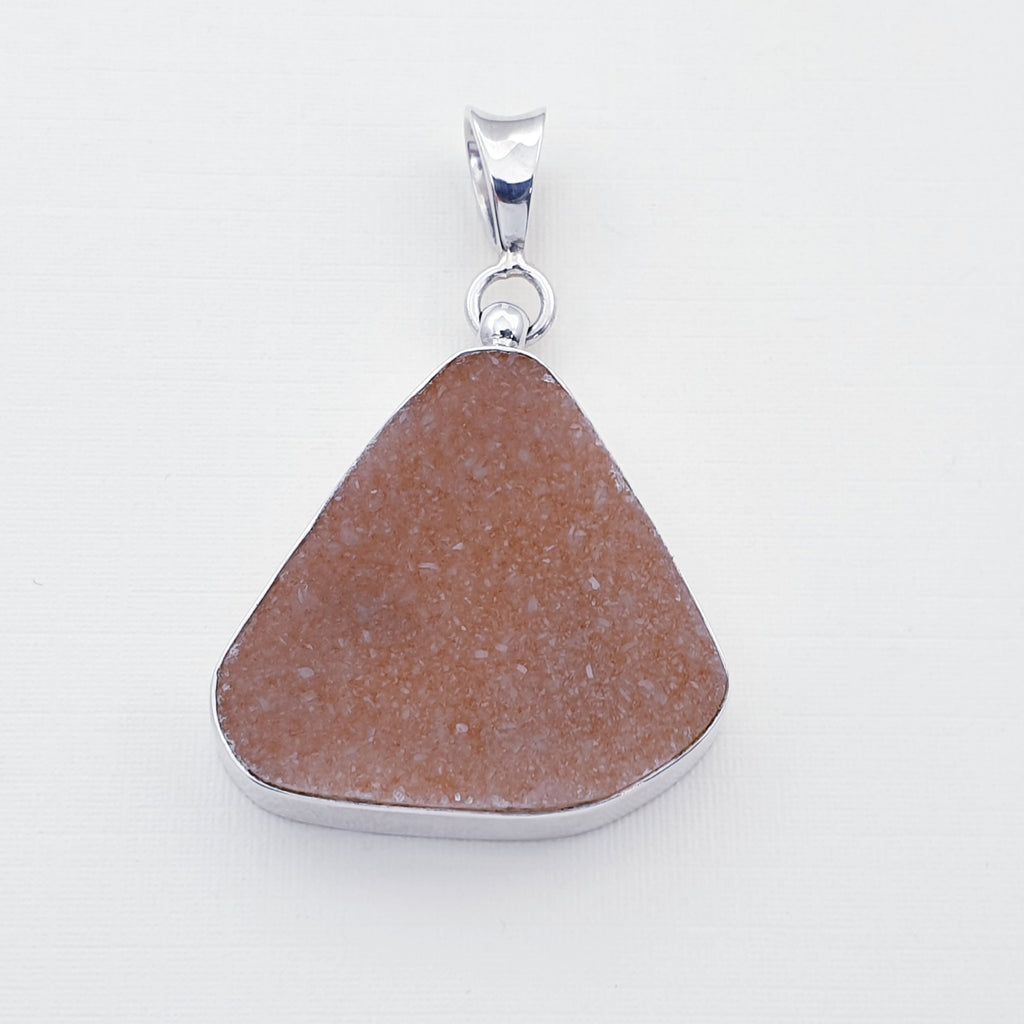One-off Druzy Agustina Pendant