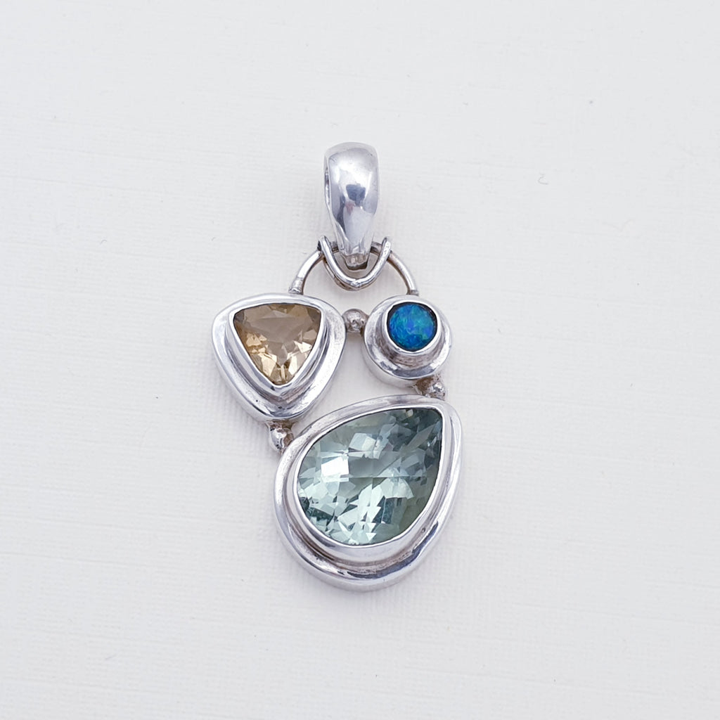 One-off Green Amethyst Tesouro Pendant