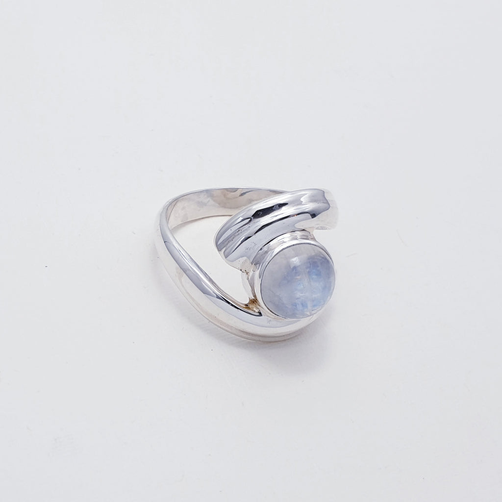 Moonstone Zelda Ring