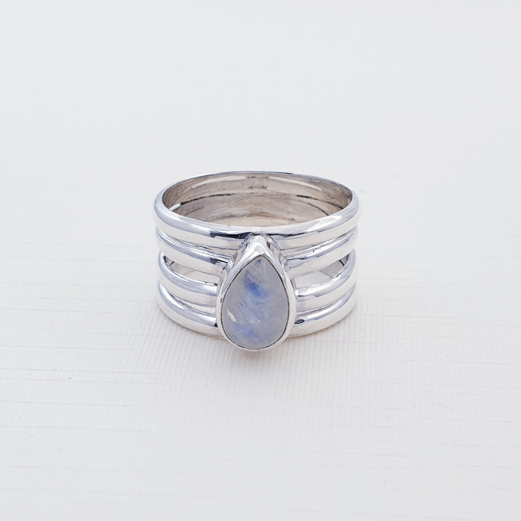 Moonstone Neith Ring