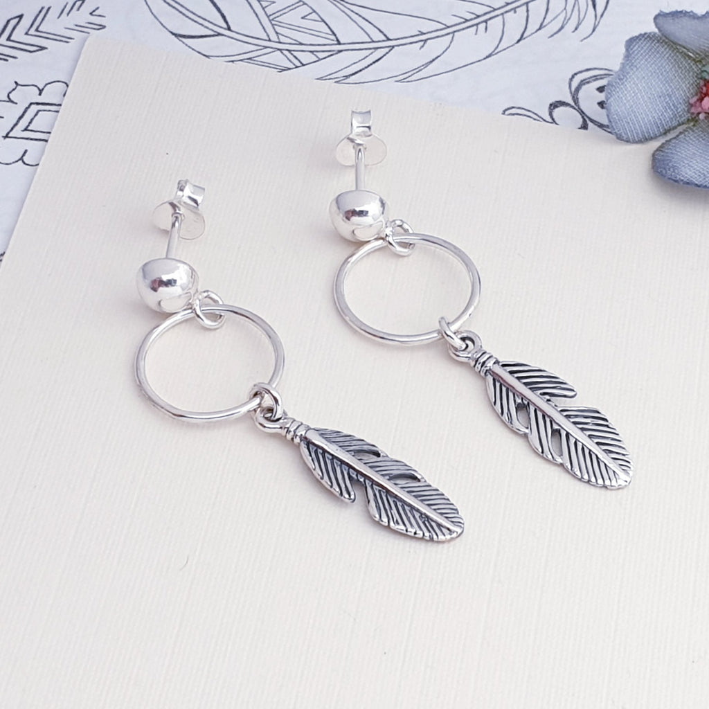 Silver Winona Earrings