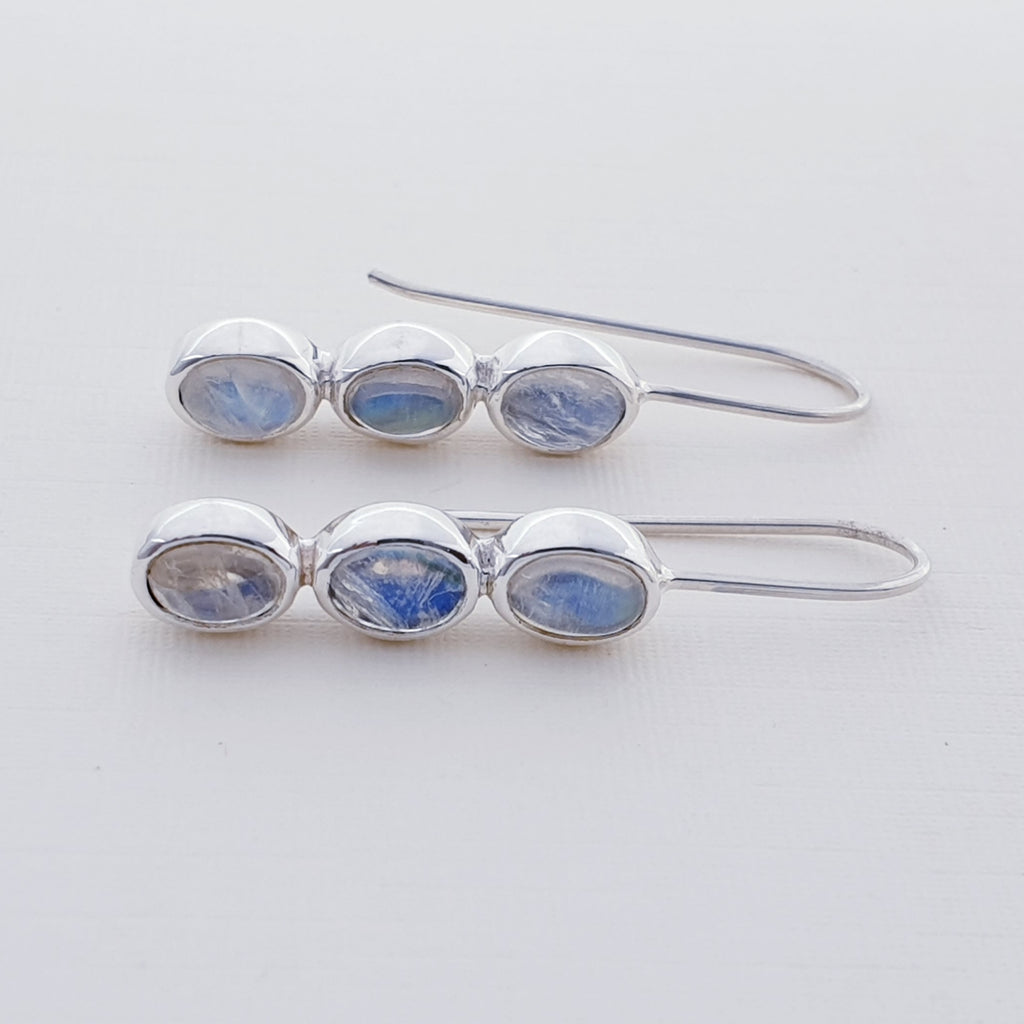 Moonstone Orla Oval Earrings