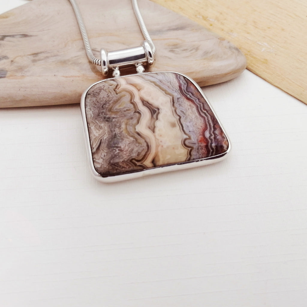 One-off Picture Jasper Ostrom Pendant