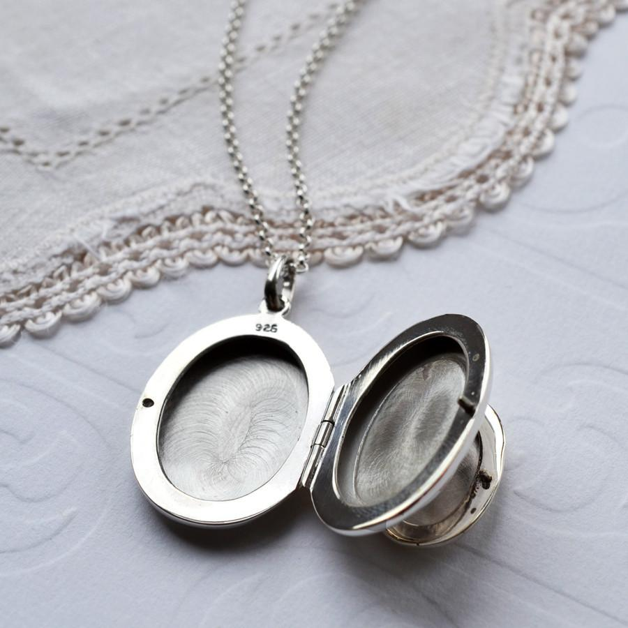 Silver Double Locket