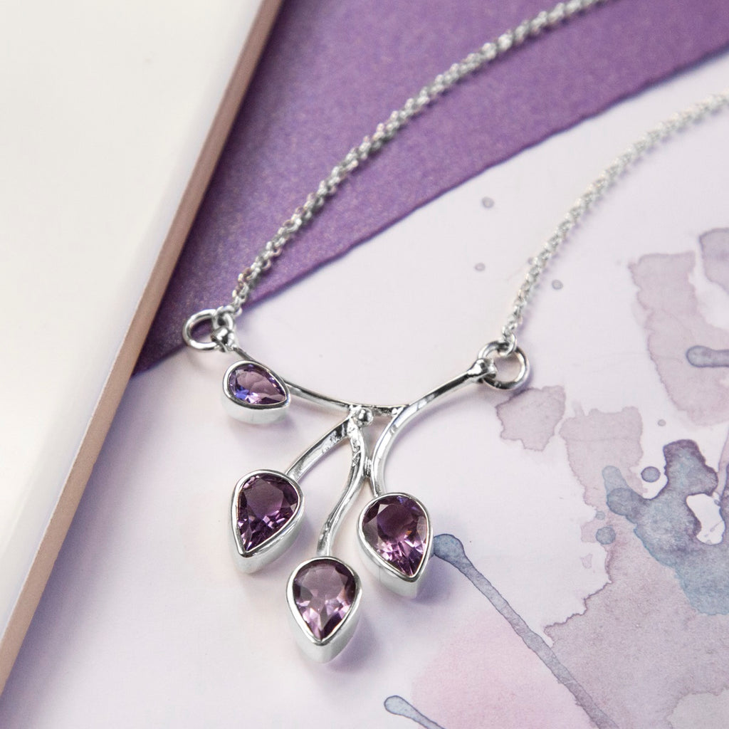 Amethyst Vine Necklace