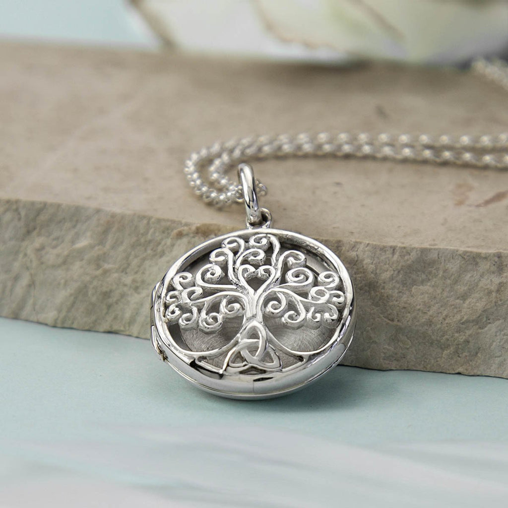 Silver Tree of Life Locket