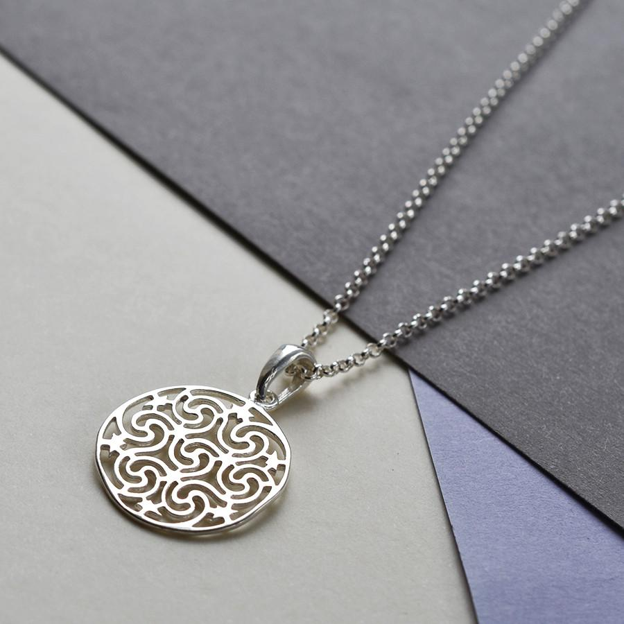 Silver Starry Night Necklace