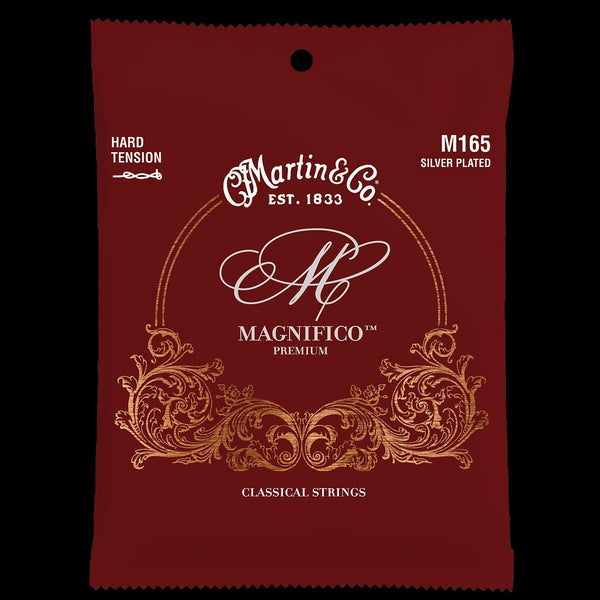 Martin M165 Magnifico Nylon Hard Tension Silverplated Strings