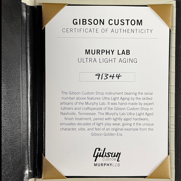 Gibson Custom Murphy Lab 1959 Les Paul Standard Reissue Ultra Light Aged Southern Fade (91344)
