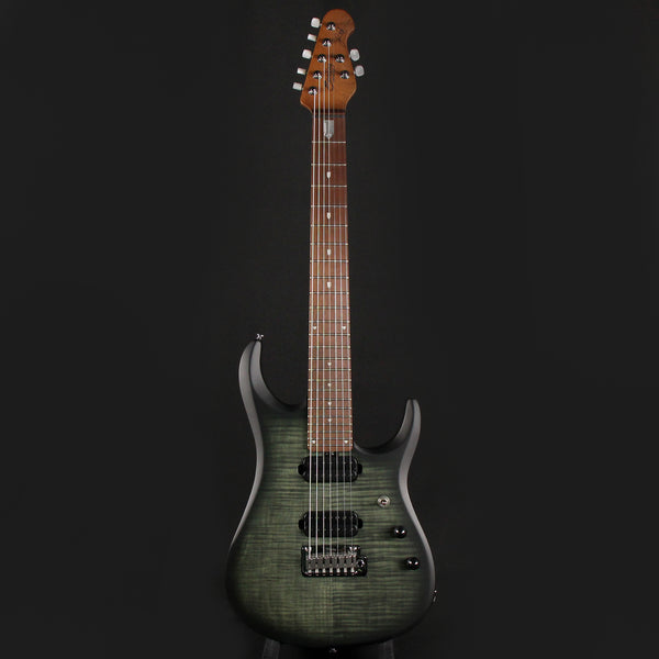Sterling by Music Man JP157FM John Petrucci Transparent Black Satin w/ Gig bag (SB19495)