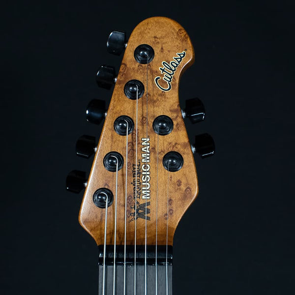 Ernie Ball Music Man Jason Richardson Signature Cutlass HH 7-String Buckeye Burl 2020 (3786)