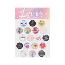ALBUM TRACKLIST PIN SET