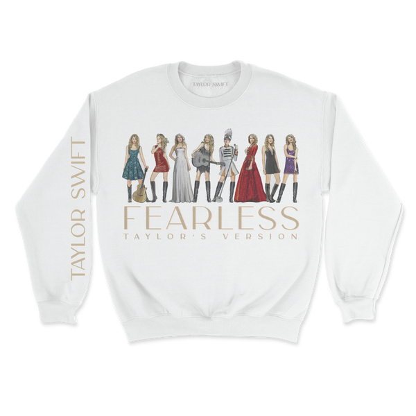 fearless (taylor's version) eras collection pullover