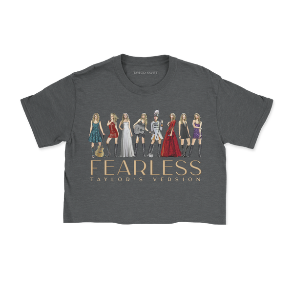 fearless cropped t-shirt front