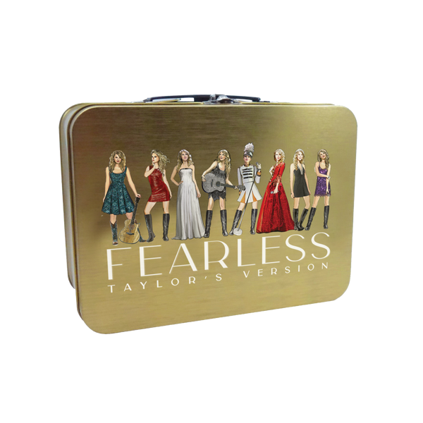 fearless (taylor's version) eras collection lunch box