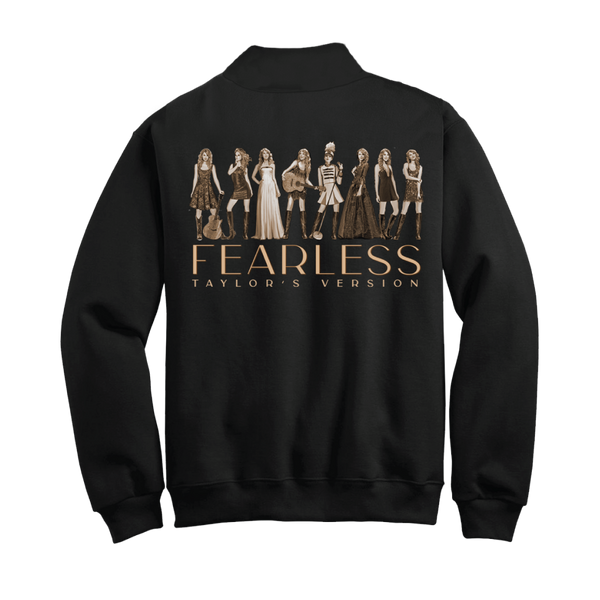 fearless (taylor's version) eras collection fleece pullover back