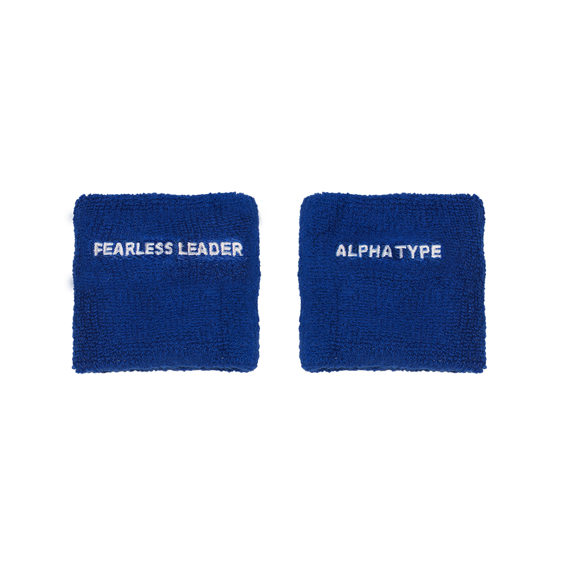 FEARLESS LEADER NAVY WRISTBANDS