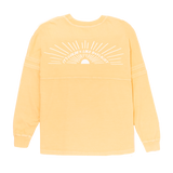 """Golden Like Daylight"" Dolman Long Sleeve Tee"