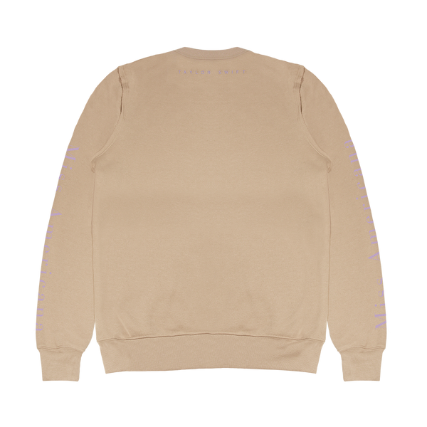 """Miss Americana"" Film Sand Long Sleeve Crewneck"