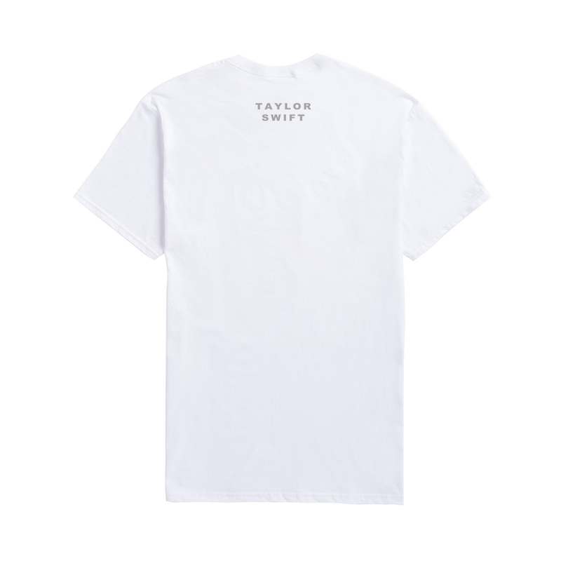 Monochrome Album Cover Tee with Color Detail