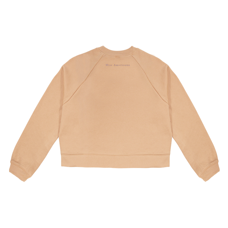 Oatmeal Long Sleeve Raglan Crewneck