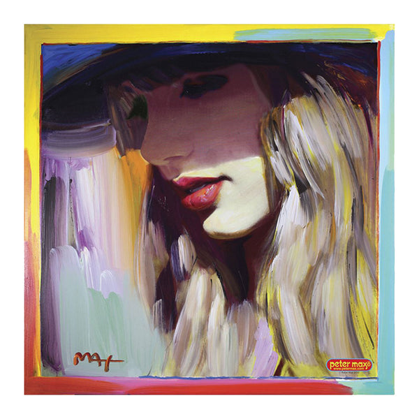 """RED"" PETER MAX POSTER ART"