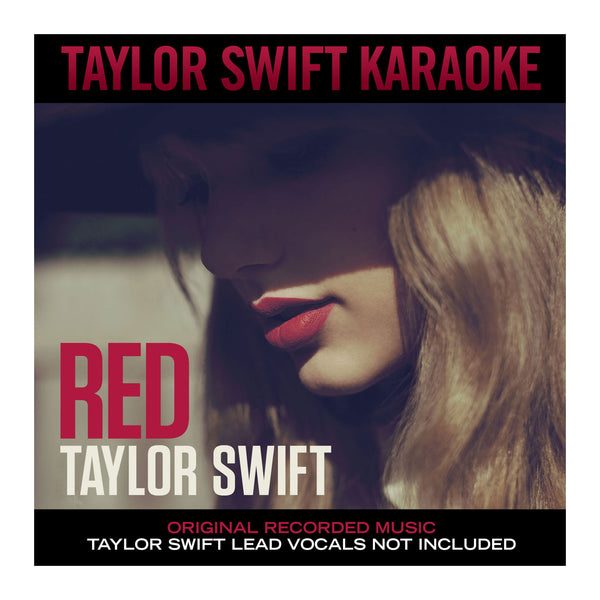 TAYLOR SWIFT - 'RED' KARAOKE CD