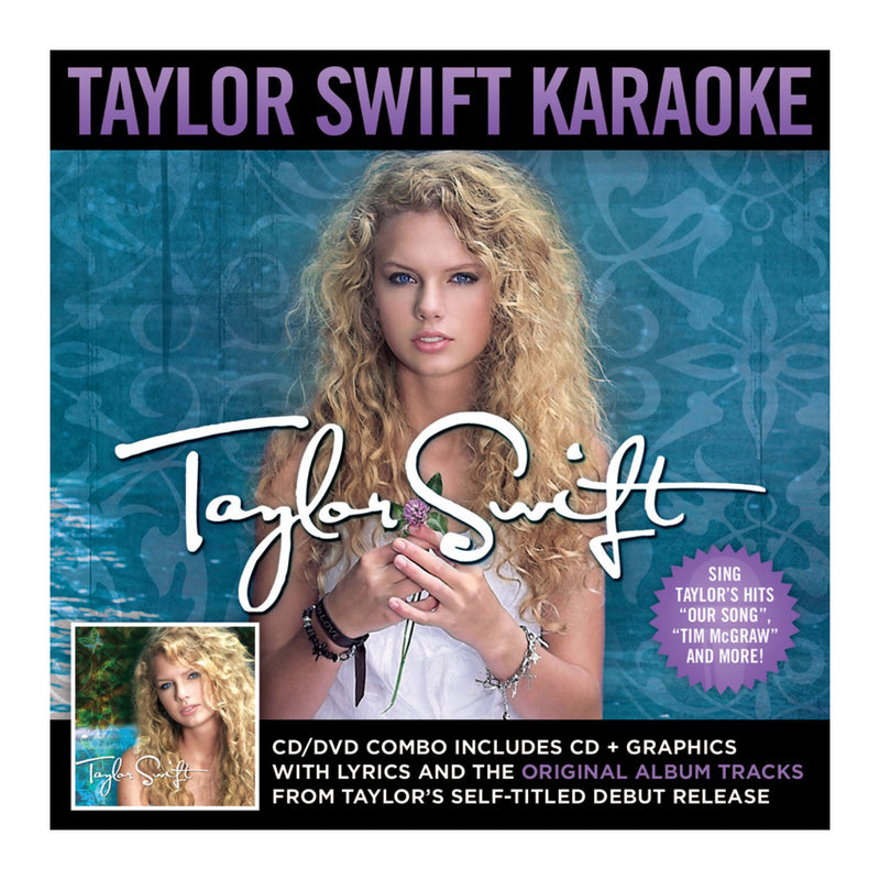 Taylor Swift - 'Taylor Swift' Karaoke CD